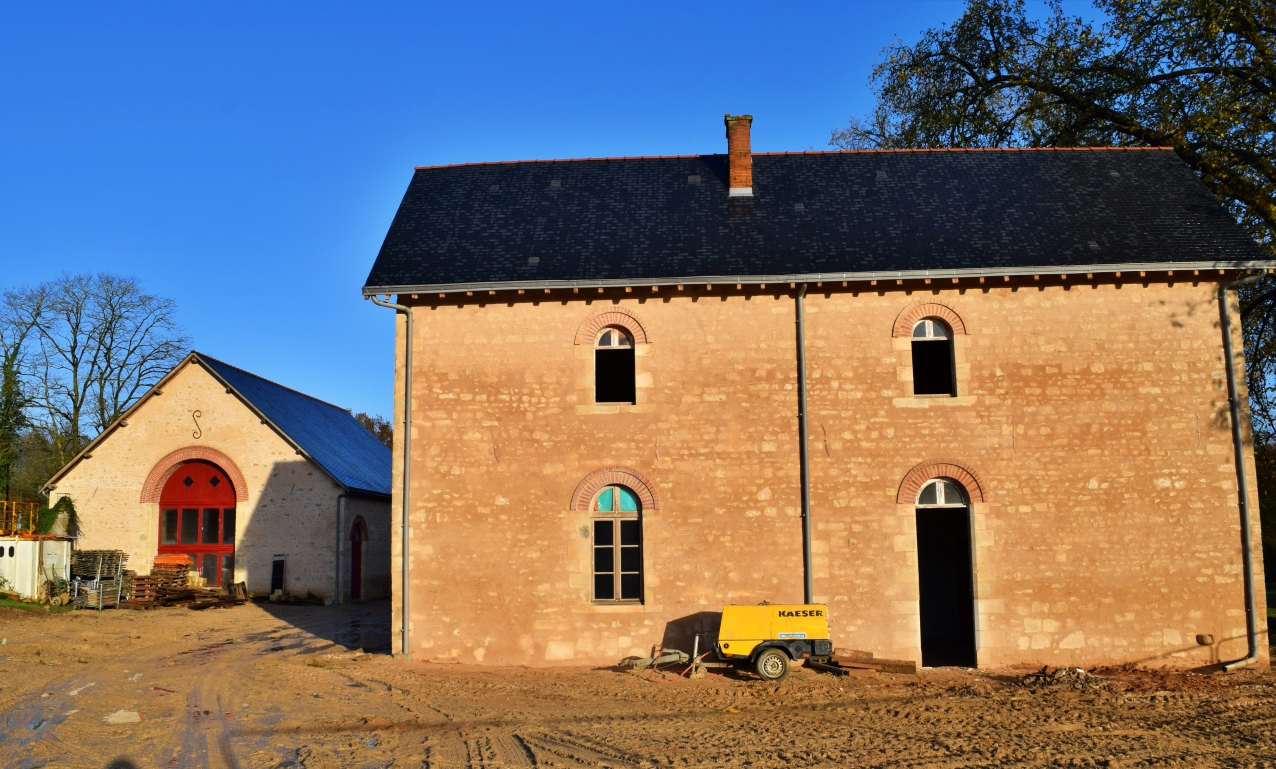 Renovations for Retreat and Conference Center at Bonnevaux Center for Peace, Poitiers France