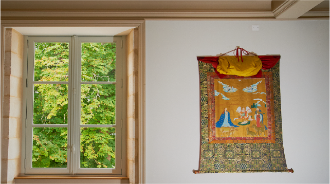 View of Christian tapestry feature