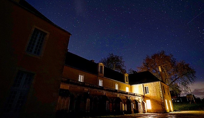 Starry night in Bonnevaux